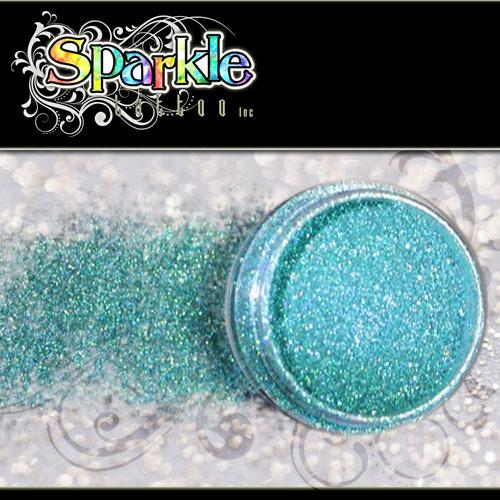 Laser Aqua Glitter