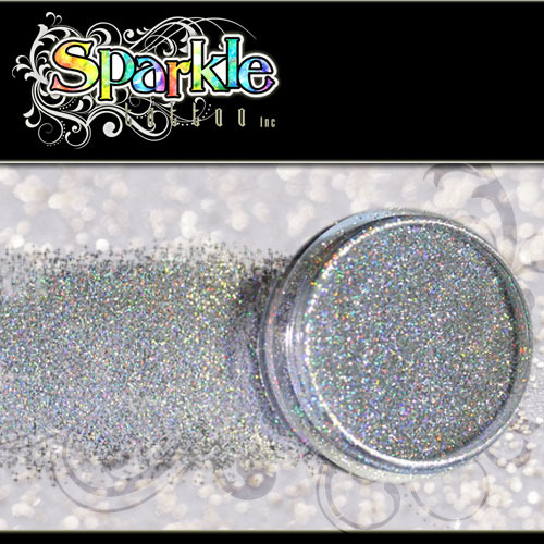 Laser Silver Glitter