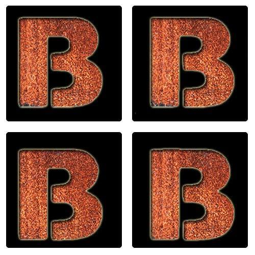Letter B Stencil