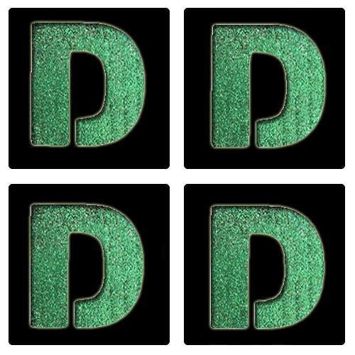 Letter D Stencil