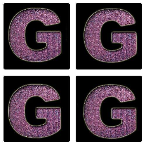 Letter G Stencil