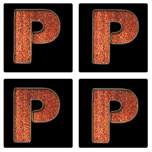 Letter P Stencil