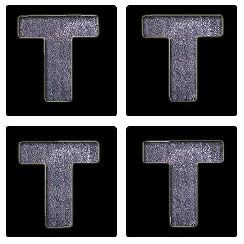 Letter T Stencil