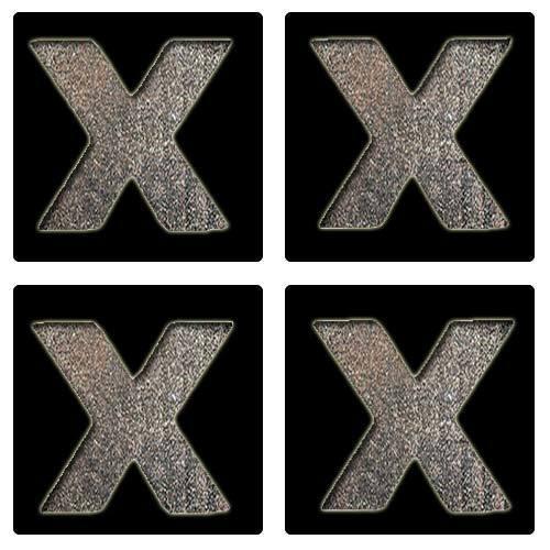 Letter X Stencil