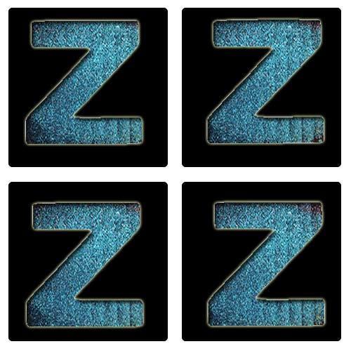 Letter Z Stencil