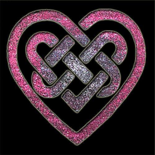 Celtic Heart Stencil