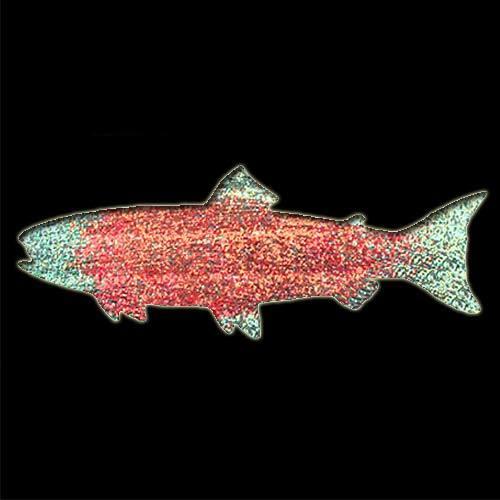 Salmon Stencil