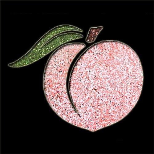 Peach Stencil
