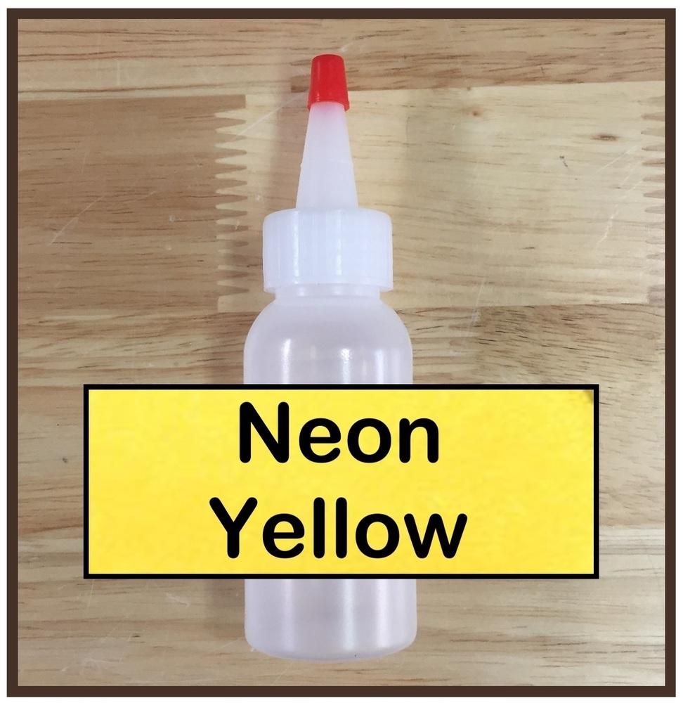 Neon Yellow Glitter Refill