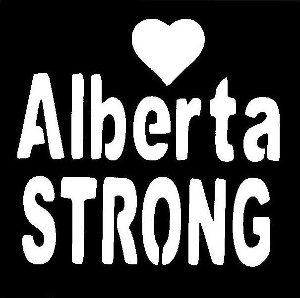 Alberta Strong Stencil