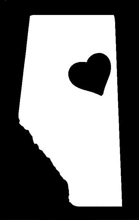 Alberta Love Stencil