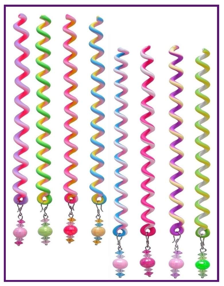 Sparkle Hair Twists (Package of 8) Set One