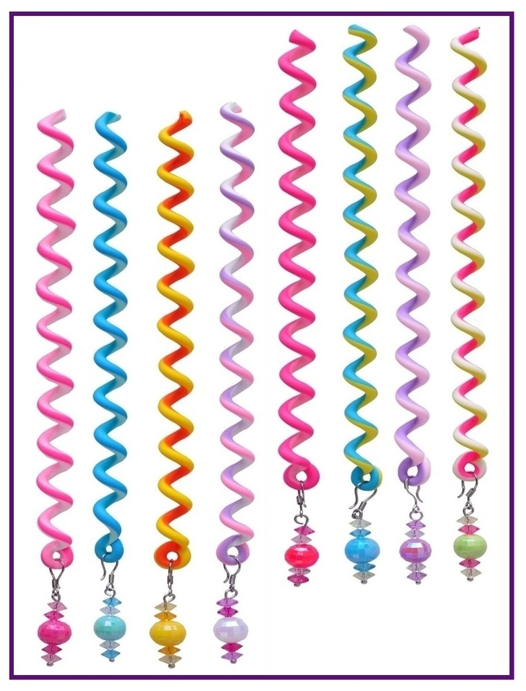 Sparkle Hair Twists (Package of 8) Set Two