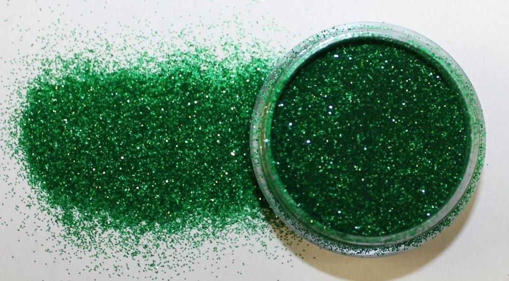 Leaf Green Glitter