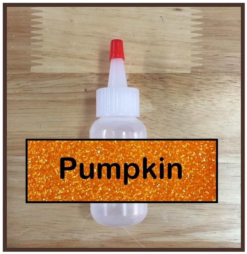Pumpkin Glitter Poof