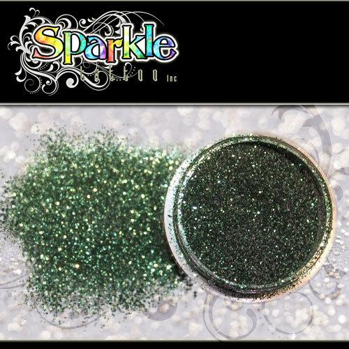 Hunter Green Glitter