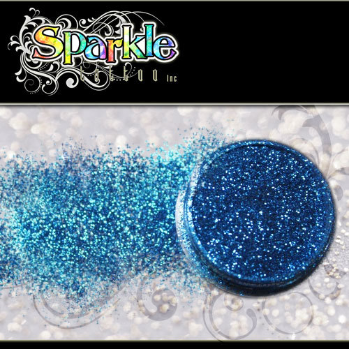 Western Blue Glitter