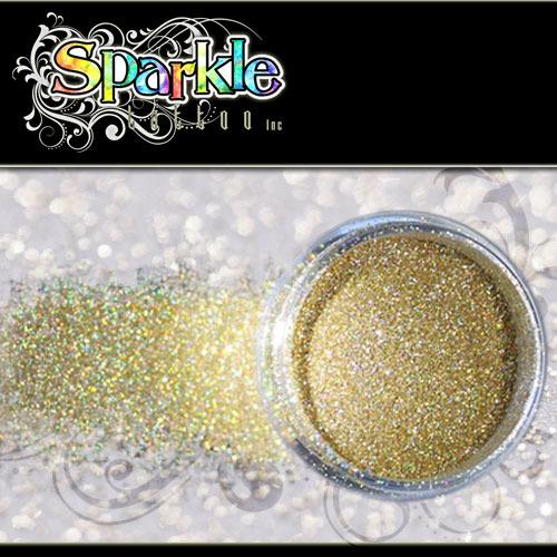 Laser Gold Glitter