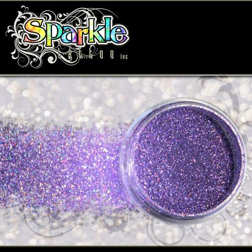 Laser Purple Glitter