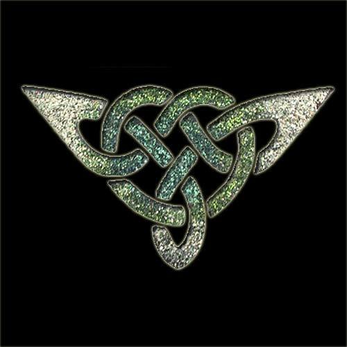 Celtic Triangle Stencil