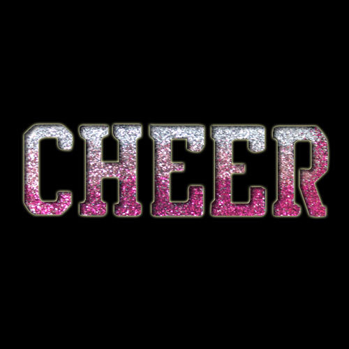 Cheer Stencil