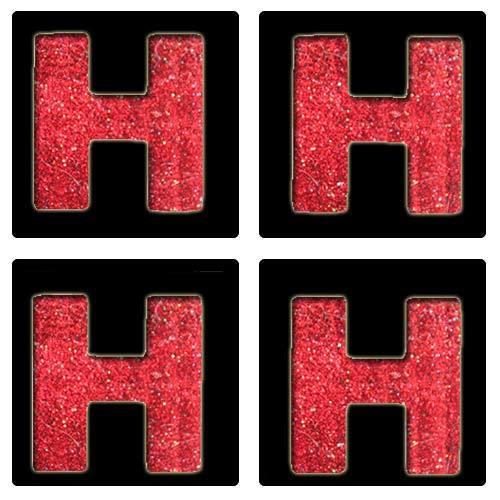 Letter H Stencil