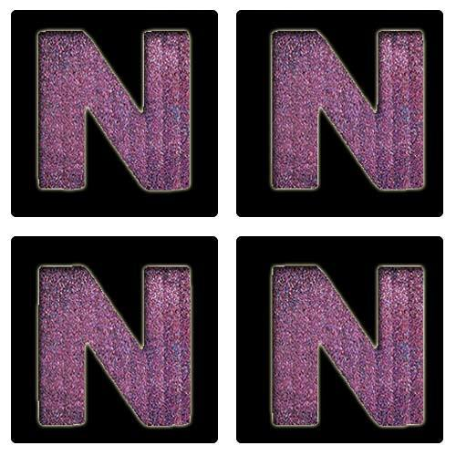 Letter N Stencil