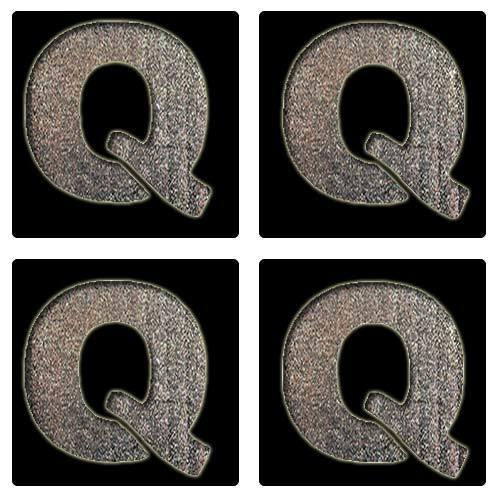 Letter Q Stencil