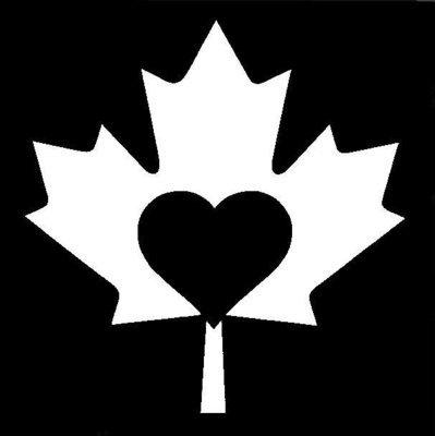 Maple Heart Stencil