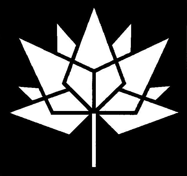Canada Day Licensed 150 Logo Stencil