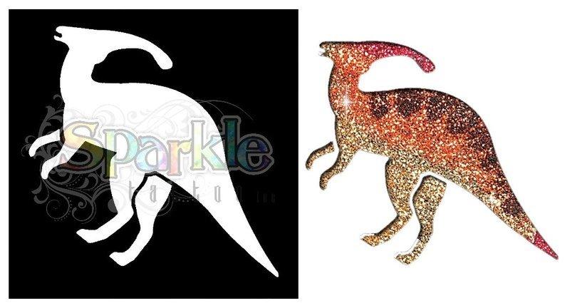 Hadrosaur Stencil