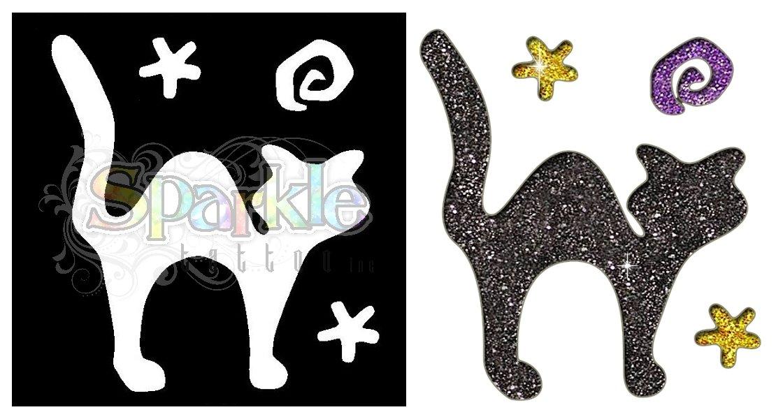 Black Cat Stencil