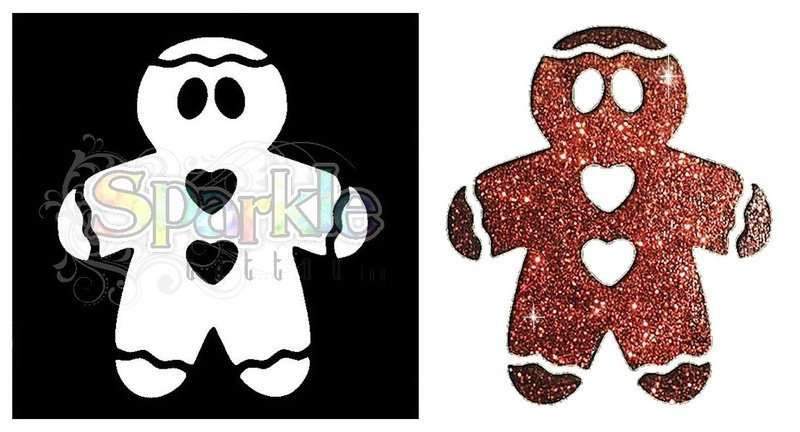 Gingerbread Man Stencil