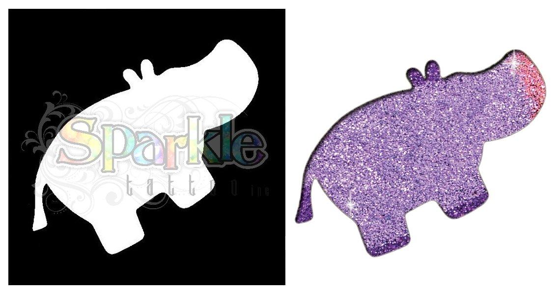 Hippo Stencil