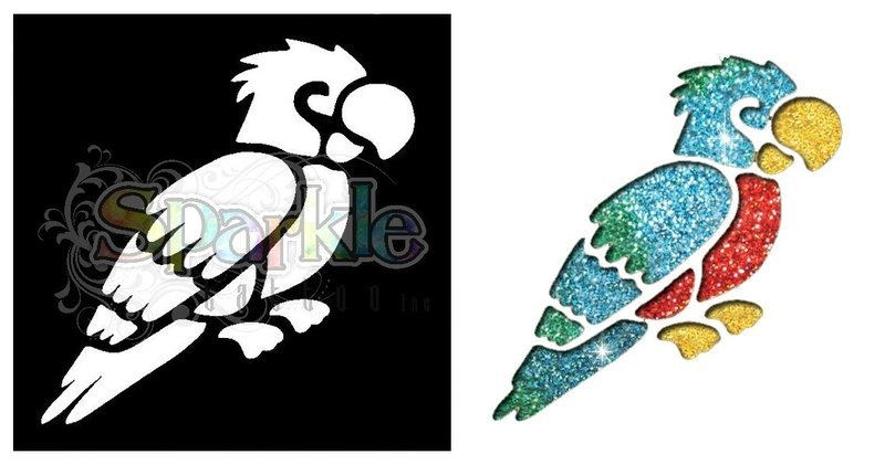 Parrot Stencil