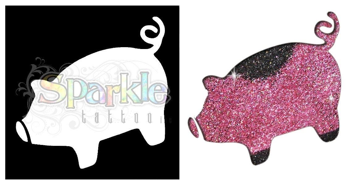 Piggy Stencil
