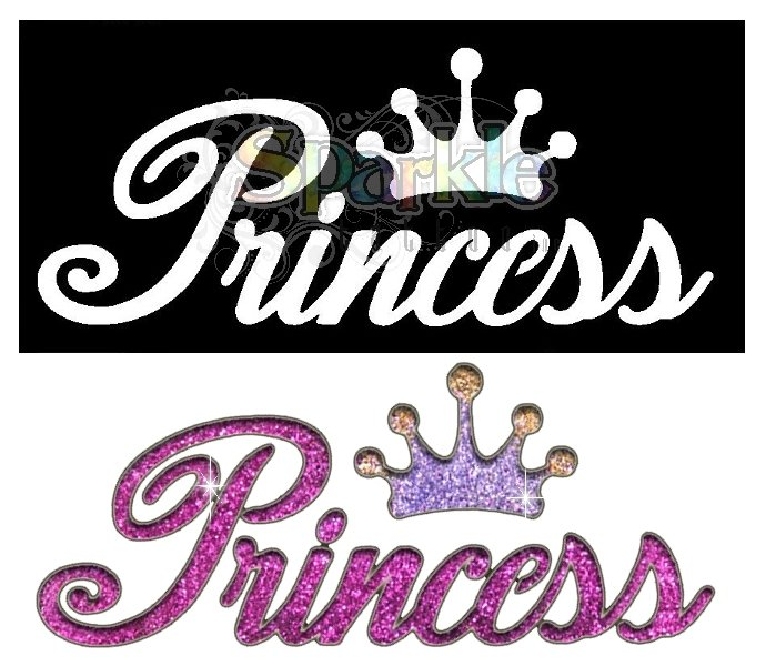 Princess Word Stencil