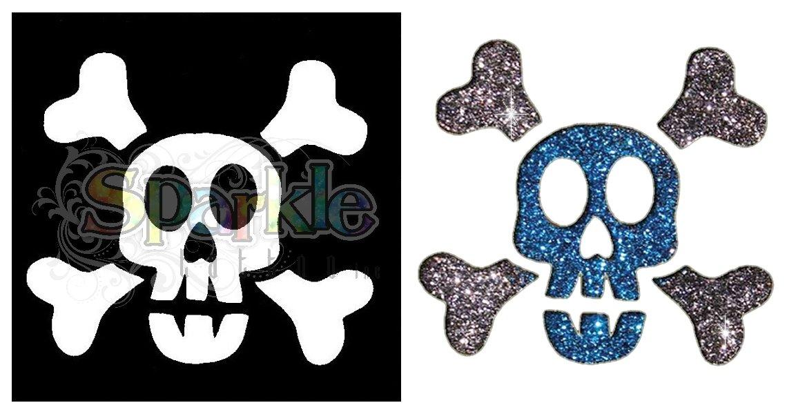 Boy Skull Stencil