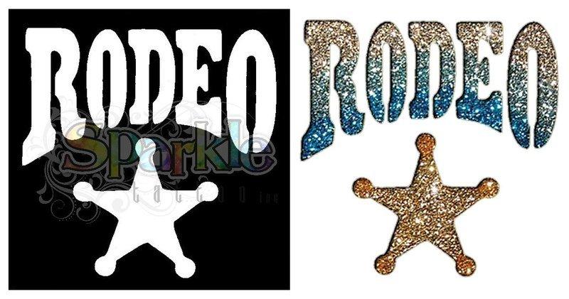 Rodeo Star Stencil