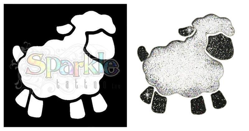 Sheep Stencil