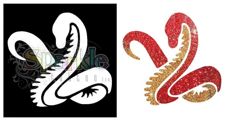 Snake Stencil