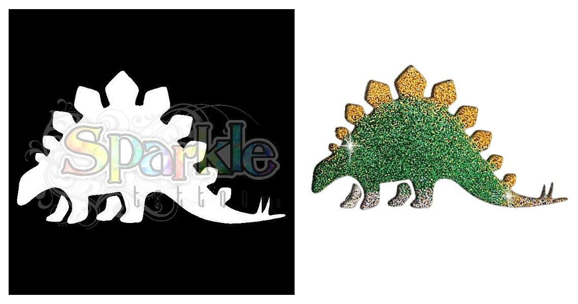 Stegasaurus Stencil