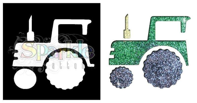 Tractor Stencil