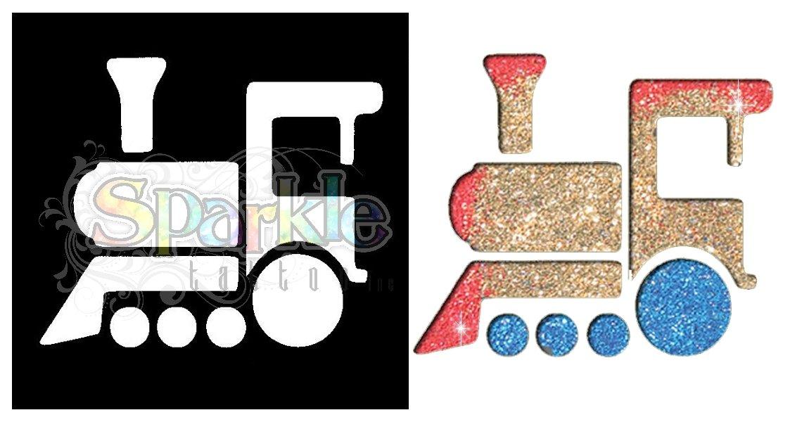 Train Stencil