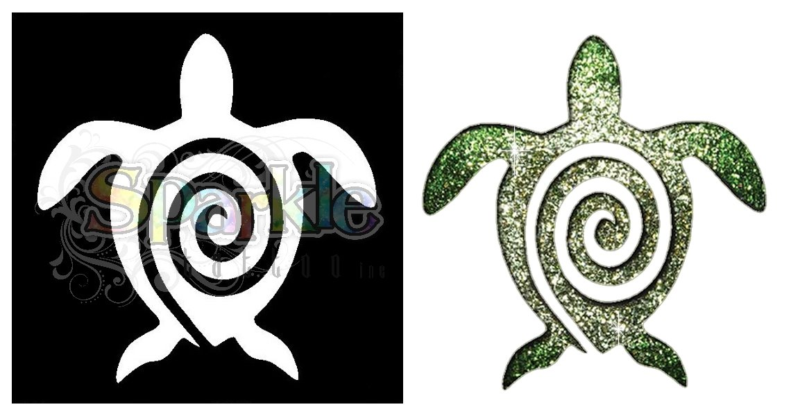 Turtle Stencil