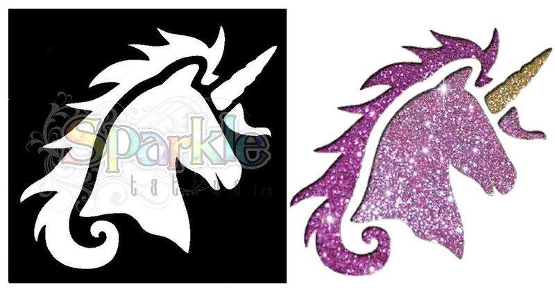 Unicorn Stencil