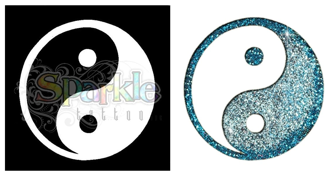 Yin Yang Stencil