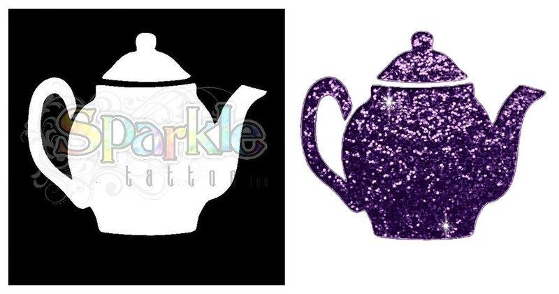 Teapot Stencil