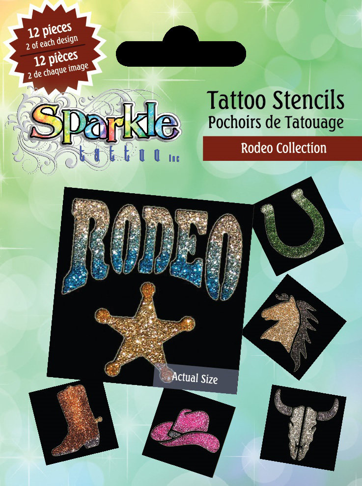 Buy Any 2 Get 3rd FREE!  Rodeo Stencil Collection