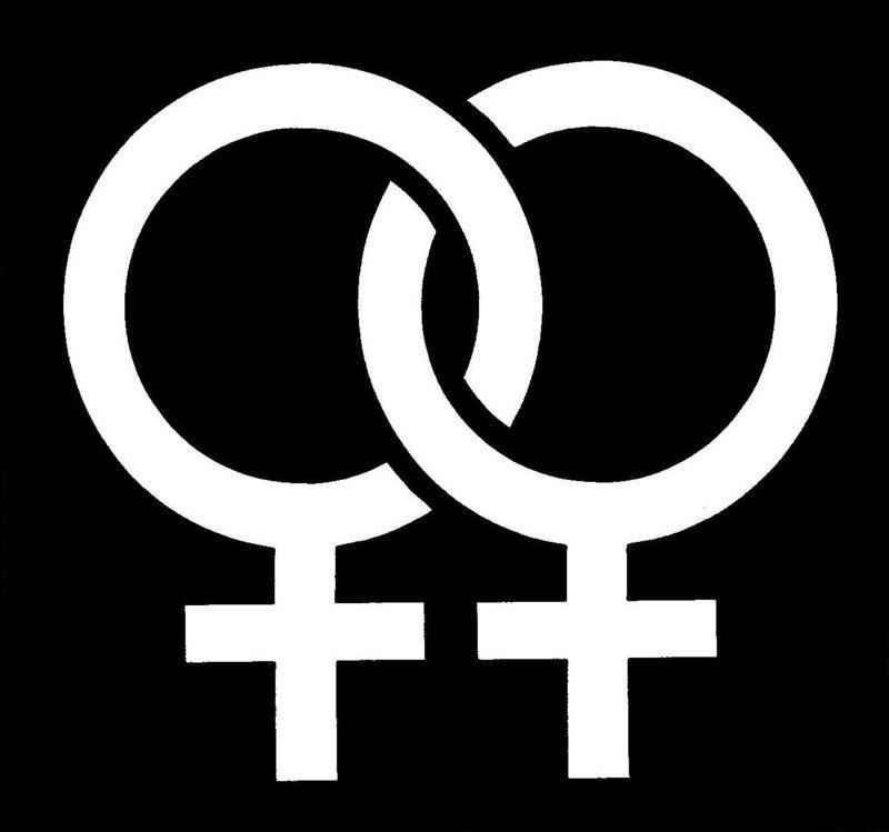 Pride Female Stencil